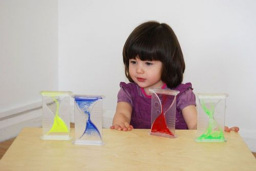 Large Sensory Bubble Timer (1 or 4pk)